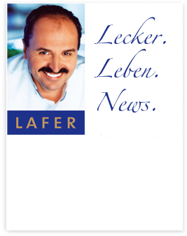 Newsletter - Johann Lafer